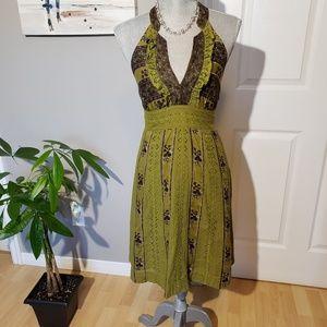FREE PEOPLE cotton dress, size 6